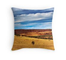 Kanmantoo - Copper Mine Throw Pillow