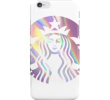 Starbucks Mermaid Pink Hologram Logo iPhone Case/Skin