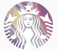 Starbucks Mermaid Pink Hologram Logo - Hipster/Tumblr/Pretty/Trendy Meme by Vrai Chic