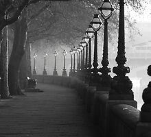 Chelsea Embankment, London. in Back and white by hwjgage