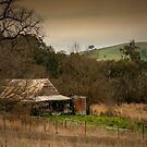 Old house in the valley by Gerard Rotse