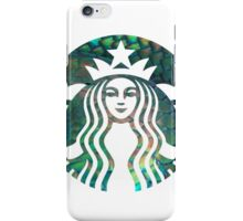 Starbucks Mermaid Green Scales Logo iPhone Case/Skin