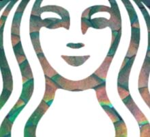 Starbucks Mermaid Green Scales Logo Sticker