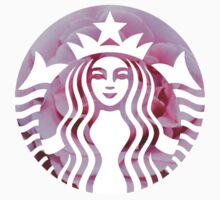Starbucks Mermaid Pink Rose Logo - Hipster/Tumblr/Pretty/Trendy Meme by Vrai Chic
