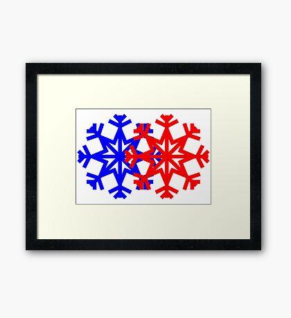 Festival Stars Framed Print