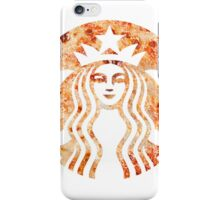 Starbucks Mermaid Pizza Logo iPhone Case/Skin