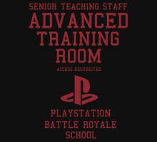 Senior Staff Advanced Room Playstation Battle Royale (Red) by Nguyen013