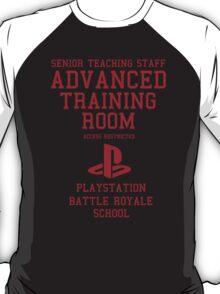 Senior Staff Advanced Room Playstation Battle Royale (Red) T-Shirt