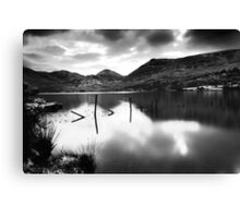Snow lake-Co. Kerry Canvas Print