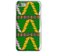 Xmas Tree Pattern Texture iPhone Case/Skin