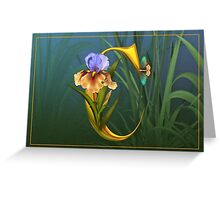 Letter C Greeting Card
