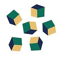 Optical Cube Photographic Print