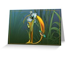 Letter D Greeting Card