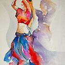 2 belly dancers by gerardo segismundo