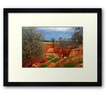 Natures Colours,Outback N.S.W. Framed Print