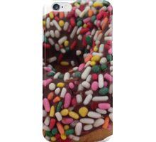 Chocolate Sprinkled Donut Sticker - Trendy/Hipster Meme iPhone Case/Skin