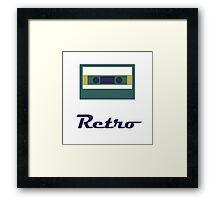 Retro cassette Framed Print