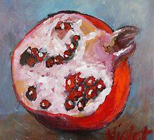 Pomegranate 1 by VioletArt