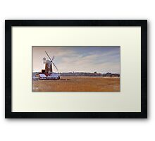 Cley Windmill, Norfolk Framed Print