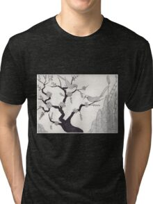 Cherry blossoms Tri-blend T-Shirt