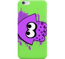 Purple Squid (Splatoon) iPhone Case/Skin
