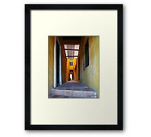 House in San Juan, Puerto Rico Framed Print