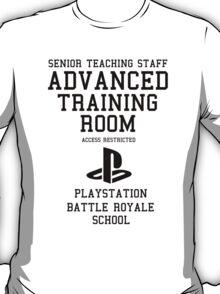 Senior Staff Advanced Room Playstation Battle Royale (Black) T-Shirt