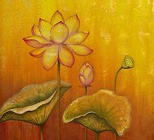 Lotus by Yuliya Glavnaya