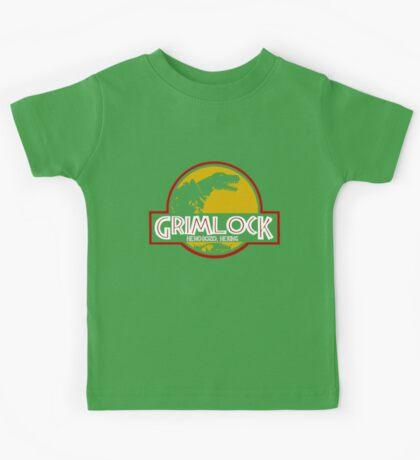 Grimlock (Jurassic Park) Kids Tee