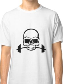 Barbell Skull Classic T-Shirt