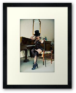 The Composers Hat and Cane by Maxoperandi