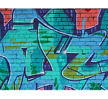 Fitzroy - Another brick in the wall Photographic Print