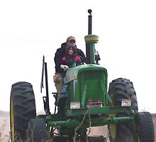 driven on the big green tractor by gabbielizzie