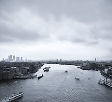 London Cityscape by Mario Curcio