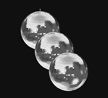Disco Balls Mens V-Neck T-Shirt