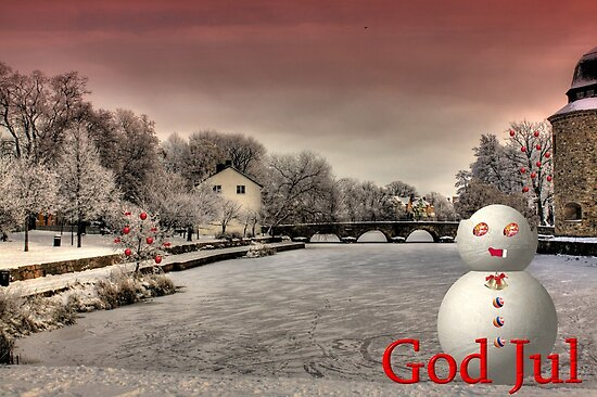 God Jul by Fadi  Barake