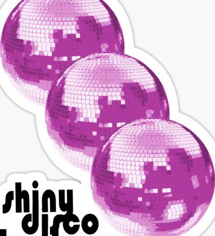Shiny Disco Balls Sticker