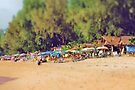 Busy on the beach by missmoneypenny