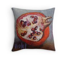 Pomegranate 2 Throw Pillow