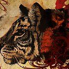 tiger paint by dnlddean