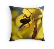 Hunting Nectar Throw Pillow