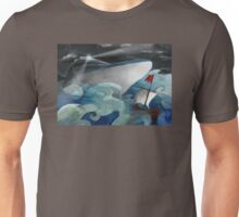 Stormy Seas Through Time Unisex T-Shirt