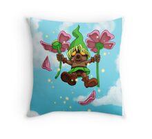 Flying Deku Throw Pillow