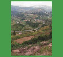 a colourful Uganda landscape Baby Tee