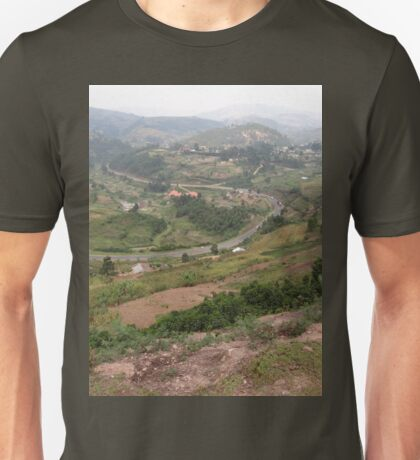 a colourful Uganda landscape Unisex T-Shirt