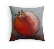 Pomegranate 4 Throw Pillow