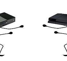 XBOX ONE VS PS4 by Thomas  Chalmers