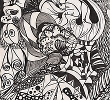 Zentangle of the mind by theLRtherapist