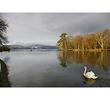 To the Loch Photographic Print