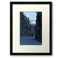 An Oregon Christmas Framed Print